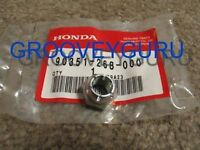 Honda Z50 J MR50 CT70 SL70 CT90 XR75 XR80 CT110 Swing Arm Lock Nut 90351-268-000