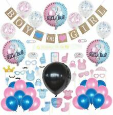 Gender Reveal Party Supplies with 36� Large Confetti Balloon Baby Shower Dec