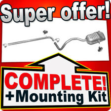 RENAULT MEGANE II 1.9 Dci also CC Silencer Exhaust System K17B