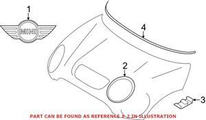 Genuine OEM Headlight Trim Ring for Mini 51139813823