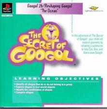 The Secret Of Googol: The Ocean PLAYSTATION PS1 PS2 kids learn shapes math game!