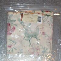 Longaberger Heirloom Floral TALL KEY Basket Liner ~ Brand New in Bag!