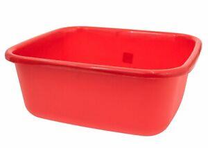 Rectangular Plastic Washing Up Bowl