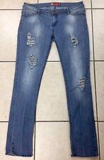Apple Bottoms Women's Slim Jeans Size 11 / 12 Mid Rise Med Wash Denim 32 Inseam