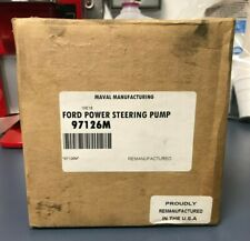 Maval Remanufactured Ford Power Steering Pump 97126M