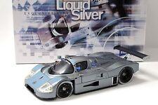 1:18 Exoto limpio-Mercedes c9 Standox Liquid Silver New en Premium-modelcars