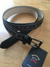 Paul & Shark Leather Belt 115cm BNWT,easy to cut to size