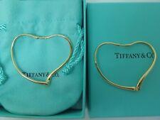 26899e58d Tiffany & Co. 18k Yellow Gold Elsa Peretti® Open Heart Hoop Earrings medium  size