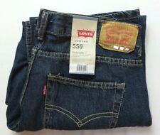 Levi's 550 Boys Kids Jeans Pants 9 11 Husky Dirty Fade Relaxed Fit Cotton New