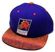 Phoenix Suns New Mitchell & Ness Retro Logo Purple Orange Snapback Era Hat Cap