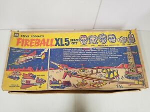 Ultra Rare Vintage 1964 MPC - Steve Zodiac Fireball XL5 Space City Empty Box