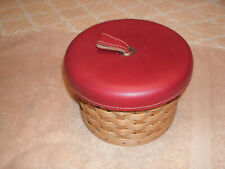 Longaberger 2004 Mothers Day Essentials Basket with Lid