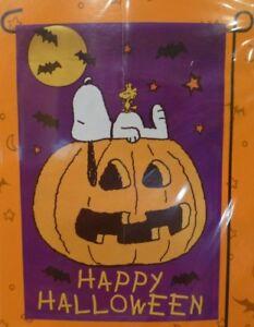 Peanuts Happy Halloween Flag