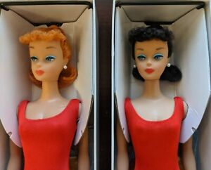 2011 Repros Brunette + Redhead Ponytails Convention gifts COMPLETE SET PRISTINE