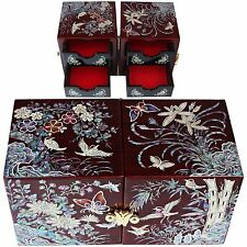 ewelry box Jewelry Organizer Holder Women Gift Items Mother Of Pearl 107