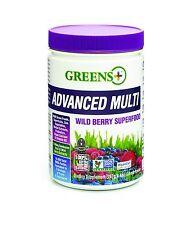 Greens Plus Advanced Multi Wild Berry - [267g / 9.4oz] Greens Powder