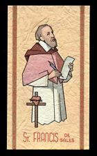 santino-holy card ediz. FB serie heavenly n.73 S.FRANCESCO DI SALES