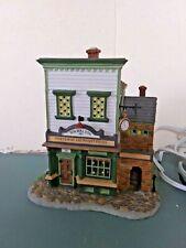 Dept 56 New England Village Wm. Walton Fine Clocks & Pocket Pieces