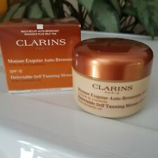 CLARINS SELF TANNING MOUSSE SPF15 125ml