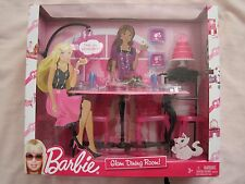 BARBIE GLAM DINING ROOM PLAYSET ..New In The Box!!!!