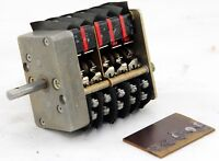 Rotary microswitch for airliner use (GB3)