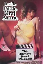 INSIDE LITTLE ORAL ANNIE Movie POSTER 27x40 Little Oral Annie Carol Cross Cara