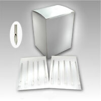 10 Set Piercing Needles 12,13,14,16,18,20G For Surgical Steel Lip/Ear/Navel Nose