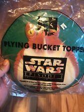 KFC Kid's Toy 1999 Flying Bucket Topper Star Wars Episode 1 Jar Jar Binks