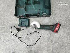METABO W 18 LTX 125 +5,2 batt+charger