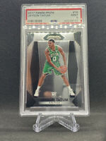 2017-18 Panini Prizm #16 Jayson Tatum Rookie Card PSA 9 MINT RC Boston Celtics