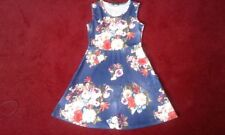 LADIES FLOWER PRINT  DRESS, NEW WITH TAGS, SIZE 14  UK