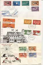 SURINAM- (24) FD Covers 1959-1967