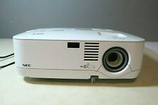 NEC NP510W LCD Projector 3000 Lumens - Only 168 Lamp Hours