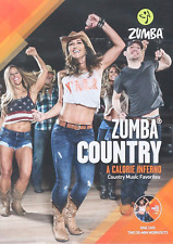 Zumba Country Dance Fitness Music Workout Dvd New