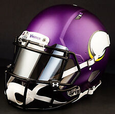 ***CUSTOM*** MINNESOTA VIKINGS Full Size NFL Riddell SPEED Football Helmet