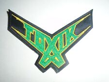 TOXIK EMBROIDERED PATCH