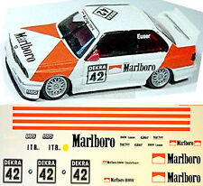 BMW M3 E30 DTM Smoking Euser #42 1:18 Decal Abziehbild