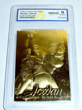 1996-97 FLEER 23KT GOLD MICHAEL JORDAN