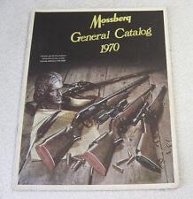 MOSSBERG FIREARMS 1970 GUN CATALOG