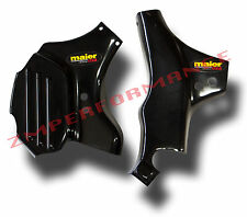 NEW YAMAHA YFZ 450 04 - 13 BLACK PLASTIC FRAME GUARDS YFZ450