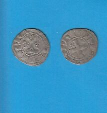 PHILIPPE IV Le Bel (1285-1314) Double Tournois billon Lot V PORT GRATUIT FRANCE