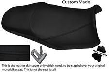 Negro Stitch Custom Fits Yamaha Fazer Fzs 1000 01-05 Doble Cuero Funda De Asiento
