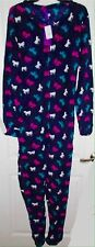Nopnad by Pajama Drama Unicorn Horse Non Footed Pajamas Plush NWT L LAST ONE