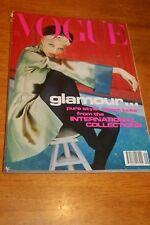 September 1991 UK Vogue MagazineLINDA EVANGELISTA on cover