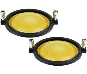 2x PRV Audio RPD3220Ph Replacement Diaphragm for Drivers D3220Ph & WG3220Ph-Nd