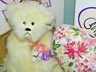 """Annette Funicello Bear """"Angel Heart"""" with originial box and COA"""