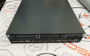Juniper EX4500-40F-VC1-BF 1/10Gbe Switch with 128G VC Module, Dual AC PSUs