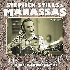 STEPHEN STILLS & MANASSAS-LIVE TREASURE (2CD)  CD NEW