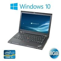 FAST Lenovo ThinkPad T430 Core i5 2.6Ghz 8GB 500GB HDD Win 10 Laptop Webcam