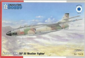 Special Hobby Vautour IIN 'IAF All Weather Fighter' in 1/72 410 ST